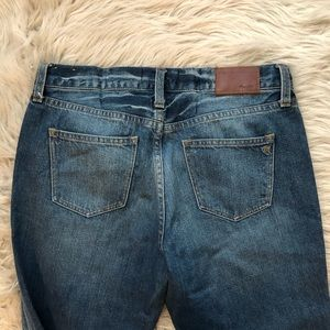 Madewell Jeans - Madewell Boyjean in Torn Up Edition